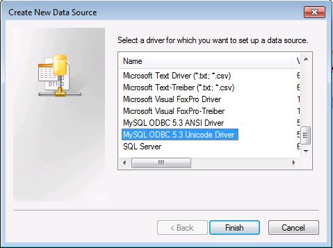 Connecting Excel to MySQL via ODBC – Field Data Integrators