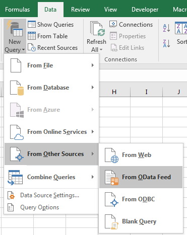 Retrieving form data into Excel with FDI Connectors – Field